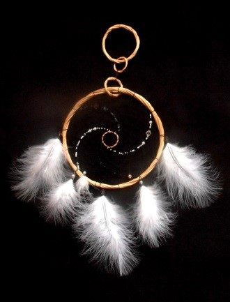 feathers in the amulet