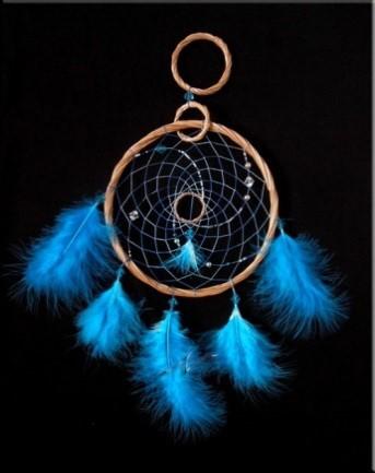 Blue Color Amulet