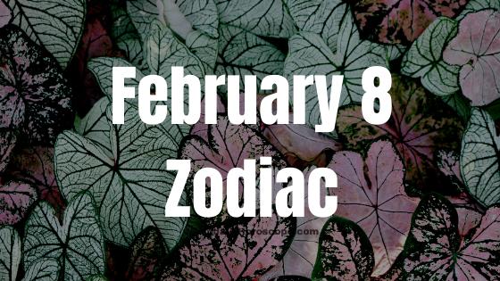February 8 Aquarius Zodiac Sign Star Sign Compatibility Birthday Horoscope