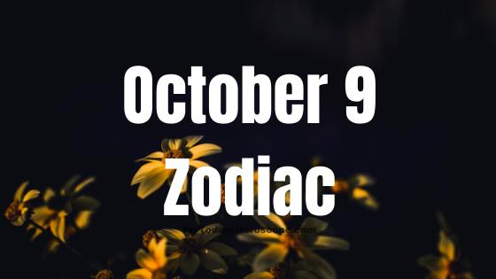 Oct 9 birthday horoscope