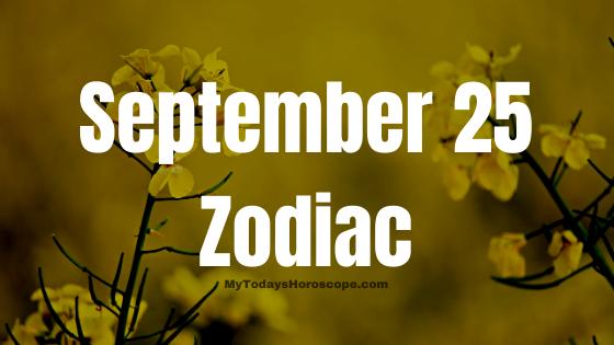 september 25 zodiac