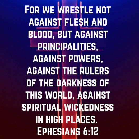 Ephesians 6:12 New International Version Bible Gateway